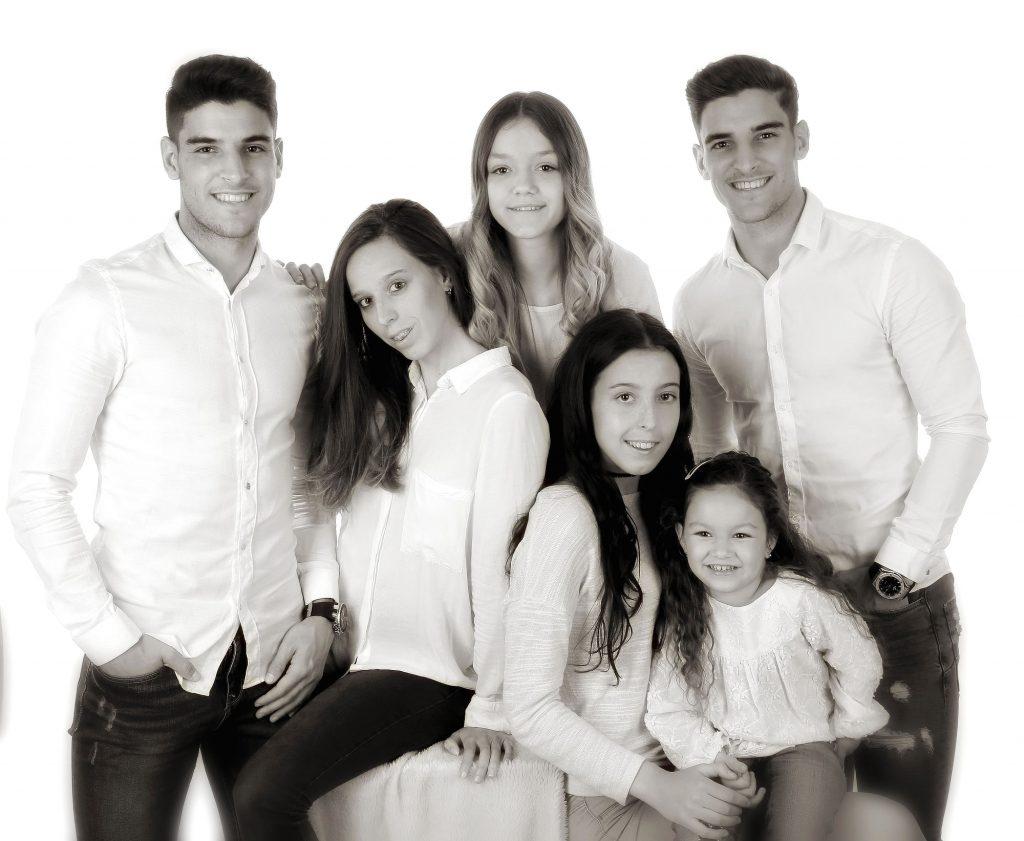 Sesión de fotos para familias