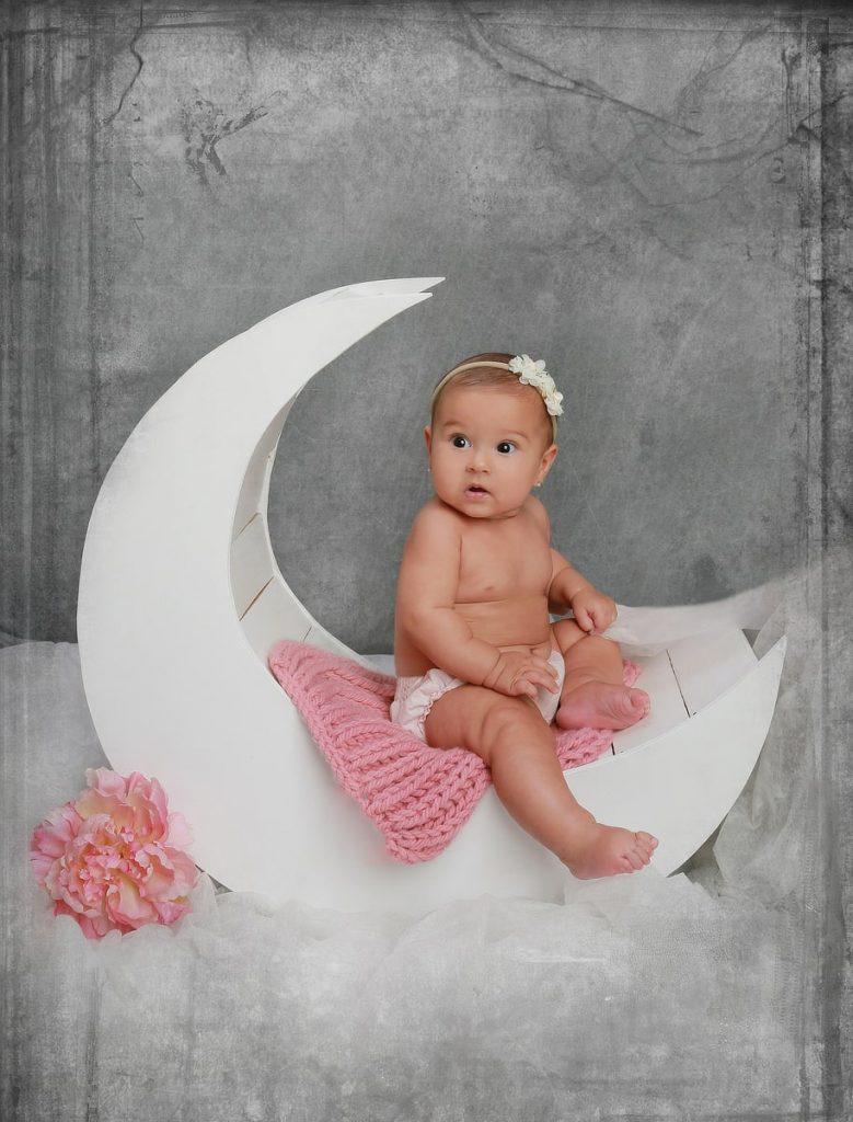 Foto de sesión de bebes