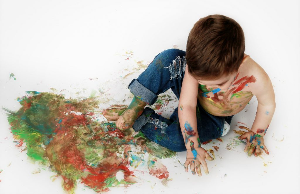 Sesión de fotos smash paint